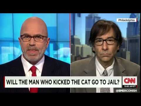 CNN interviews Gary Francione on man who kicked cat