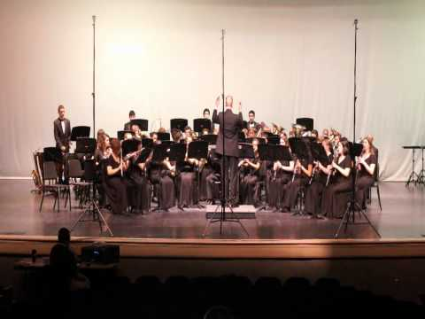 Cedar Ridge High School Concert Band.  Crest of Nobility. 2012 Peak Music Festival