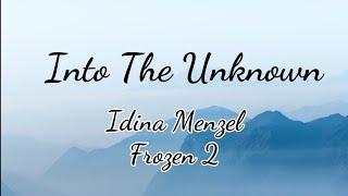 "Gambar cover Into The Unknown - Idina Menzel & AURORA |""Frozen 2""  | (Lyrics)"