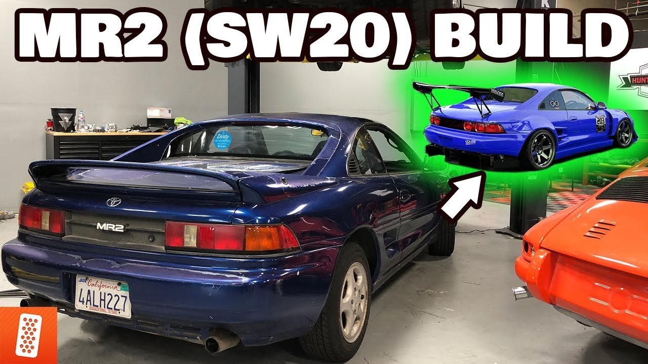 TURNING A $700 TOYOTA MR2 INTO A $17,642 TOYOTA MR2! (BUILD PLANS)