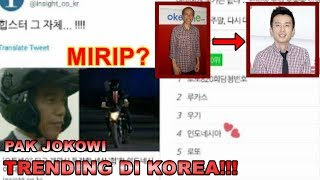 Pak Jokowi Trending di Media Korea!!! #OpeningCeremonyAsianGames2018