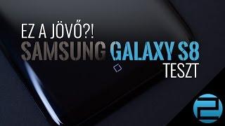 Ez a jövő?! | Samsung Galaxy S8 teszt