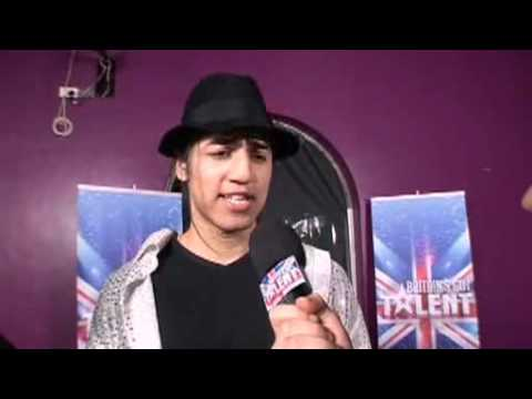 Suleman Mirza - Signature Britains Got Talent  post audition interview