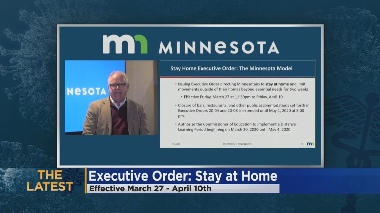 Minnesota's COVID-19 stay-at-home order: What you need to know