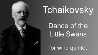Tchaikovsky - Dance of the Little Swans - for woodwind quintet