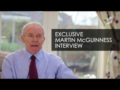 Exclusive interview with Martin McGuinness