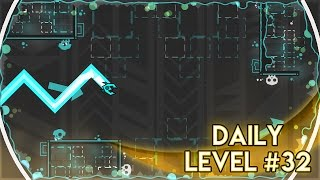 "DAILY LEVEL #32 | Geometry Dash 2.1 - ""Scent"" by Optical 