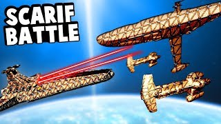 Galactic Empire Defeats the Rebel Alliance in the Battle of Scarif in Forts Star Wars!