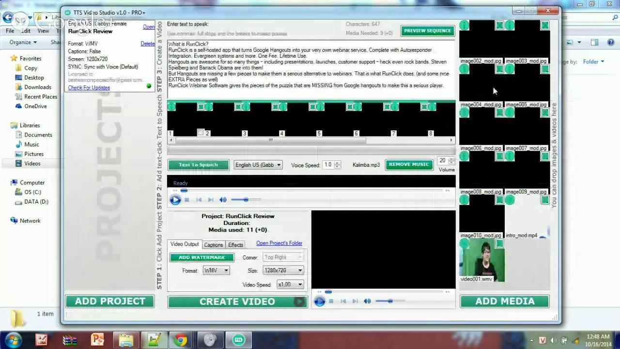 Tts video studio download