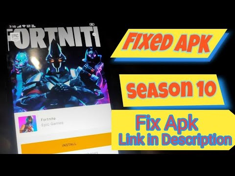 How to Download Fortnite Android Season 10 Fix apk For Not Supported And 2Gb Ram Devices