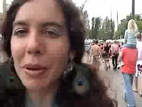 Fremont Fair:  Interview Solstice Cyclist