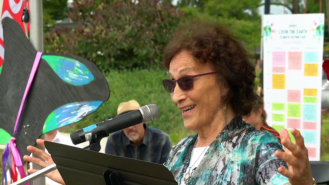 VESANTO MELINA speaking on saving the Environment