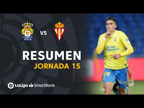 Las Palmas Gijon Goals And Highlights