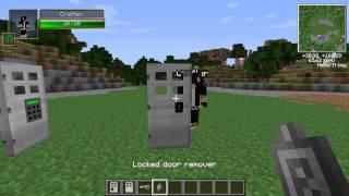 Обзор мода Keq and Code lock mod. Minecraft 1.5.2 .