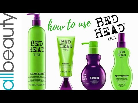 HOW TO USE: New TIGI Bed Head Curls & Waves