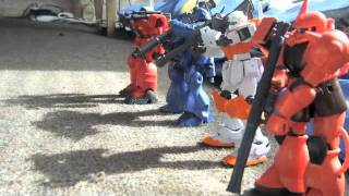 AKIRANEMO ガンプラ戦動隊 (射撃訓練)