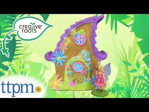 Creative Roots Light-Up Fairy House from Horizon Group USA