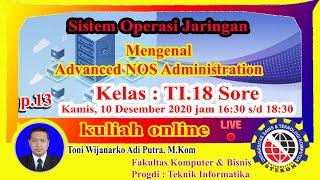 Download Mengenal Advanced NOS Administration, Program Studi Teknik Informatika Universitas STEKOM.
