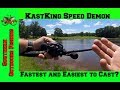 KastKing Speed Demon Fastest (9:3.1) and Easiest Reel to Cast for $70