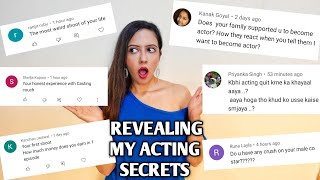 Honest Q&A About My ACTING Career| Casting Couch, Income, Depression