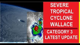 Tropical Cyclone Wallace Update April 9, 2019