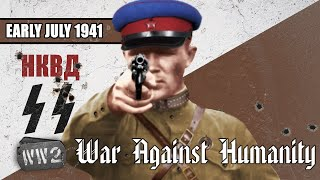 Barbarossa, Hitler's and Stalin's Hell on Earth - War Against Humanity 014 - July 1941, Part 01