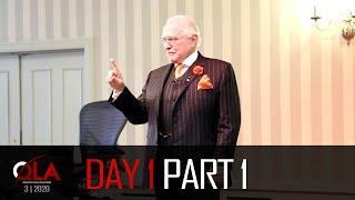 Day 1 Part 1 | March 2020 | Dan Peña QLA Castle Seminar