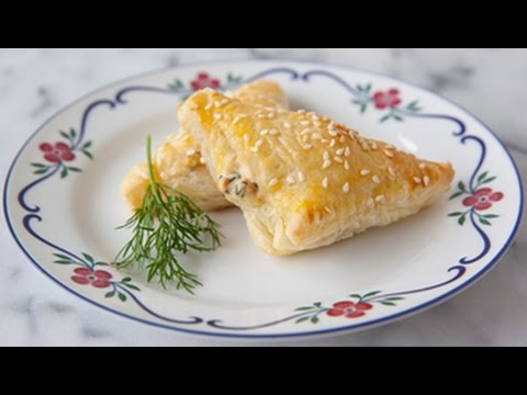 Finlandia Cheese Recipe: Smoked Salmon Pasties by Kristina Vanni