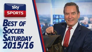 Soccer Saturday: Funniest moments of 2015/16