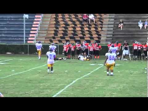 Daphne Middle football vs  Bay Minette 9-5-2013