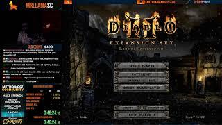[Part 2] Diablo 2 - HELL TWINKED BARBARIAN SPEEDRUN