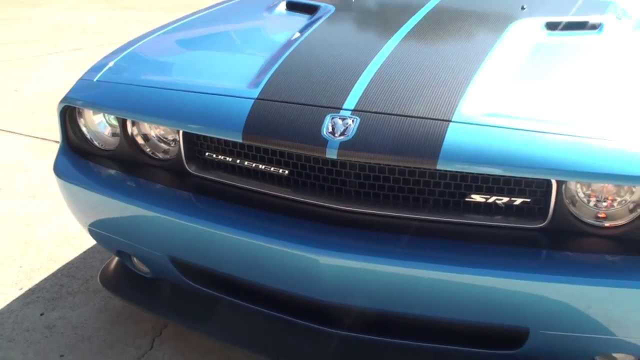 Hd Video 2010 Dodge Challenger Srt8 Pearl Blue For Sale