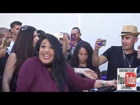 Chris Perez, Suzette Quintanilla, AB Quintanilla at the Madame Tussauds Hollywood Unveils Selena Q