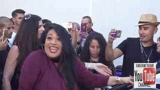 Chris Perez, Suzette Quintanilla, AB Quintanilla at the Madame Tussauds Hollywood Unveils Selena Q
