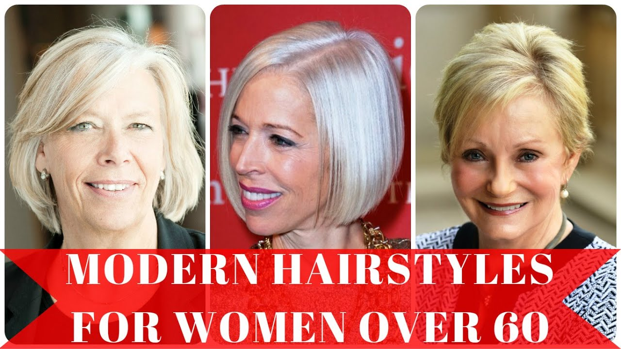 Hairstyles For Short Hair 60: Modern Hairstyles For Women Over 60