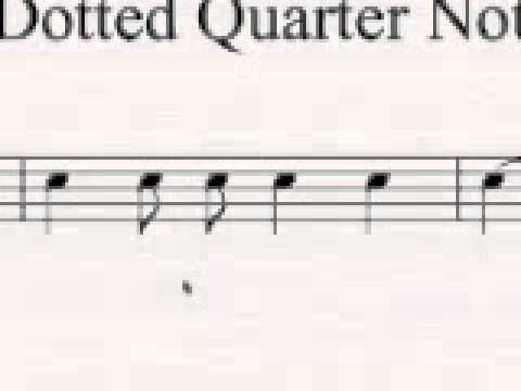 Groovee! Dotted Quarter Notes