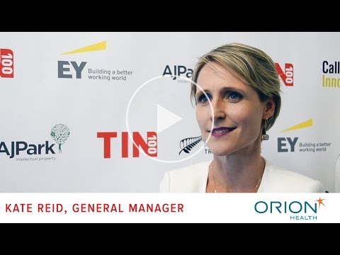 TIN100 Drivers of Success - Kate Reid, General Manager, Orion Health