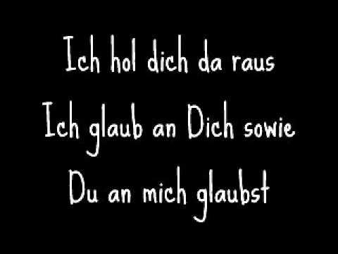 Azad Feat. Adel Tawil - Ich Glaub An Dich (Prison Break Anthem) With Lyrics.