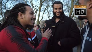 P1 - Your Brothers!! Muhammad Hijab Vs Christian | Speakers Corner | Hyde Park