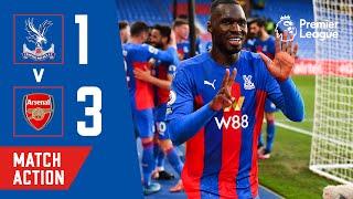 Crystal Palace 1-3 Arsenal | Match Action