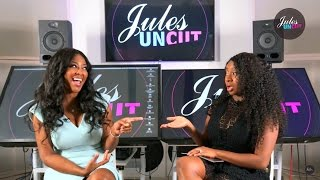 Kenya Moore  Talks about Her Relationship With Phaedra On Jules Uncut | Episode 4