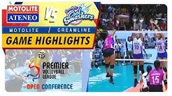 PVL OC 2018: Ateneo-Motolite vs. Creamline | Game Highlights | October 28, 2018