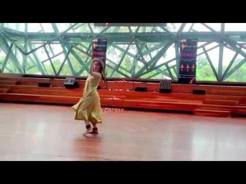 Oh Ri Chiraiya Dance Performance by Sanjana Rangi - Diwali Mela, Melbourne, 2013