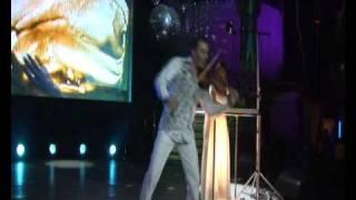 Тигран Петросян и песочное шоу. 2010 Tigran Petrosyan & Sand show - Interactive violin. © TED films.