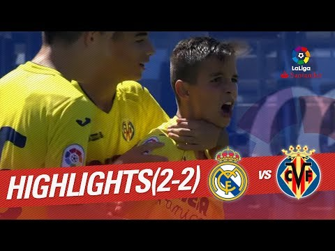 Resumen de Real Madrid vs Villarreal CF (2-2)