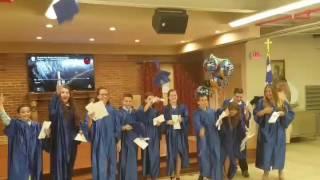 Η αποφοίτηση των μαθητών, τάξη του 2017