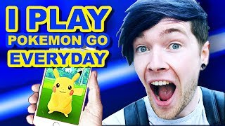 dantdm sings i play pokemon go everyday