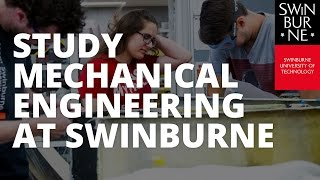 Study Mechanical Engineering at Swinburne
