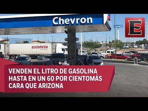 Chevron abre en Sonora su primera gasolinera en México
