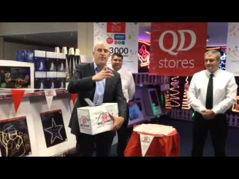 QD Stores 30th Birthday Staff Prize Draw Winner-Jill Fisk